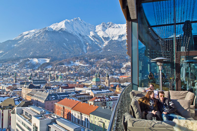 Innsbruck ski holiday by rail