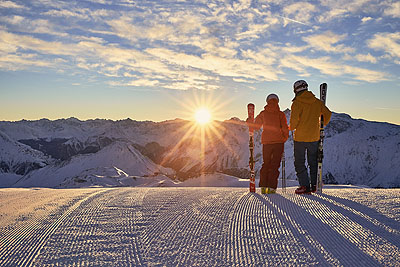 Ischgl ski holiday by train