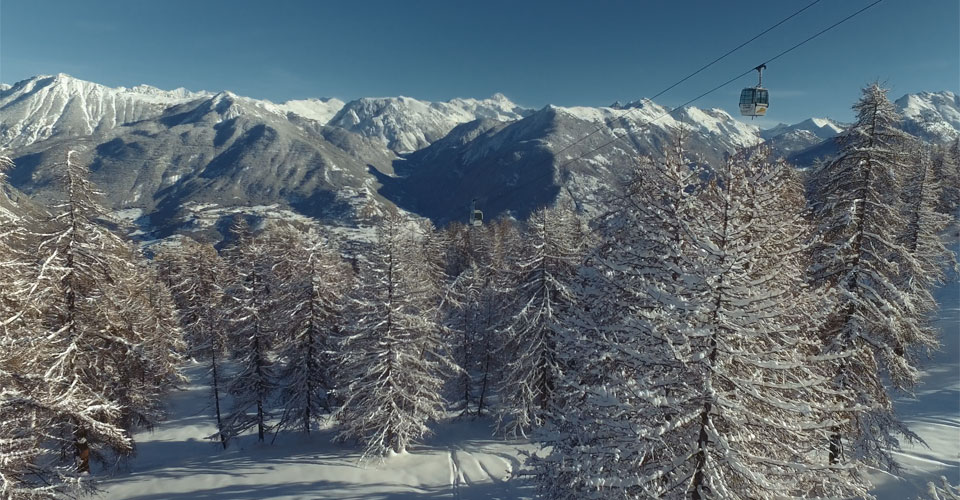 Photo: Blue Max Media - Serre Chevalier ski slopes